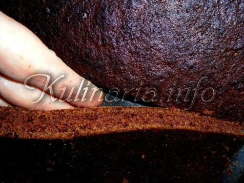 тонкое тесто пирог брауни