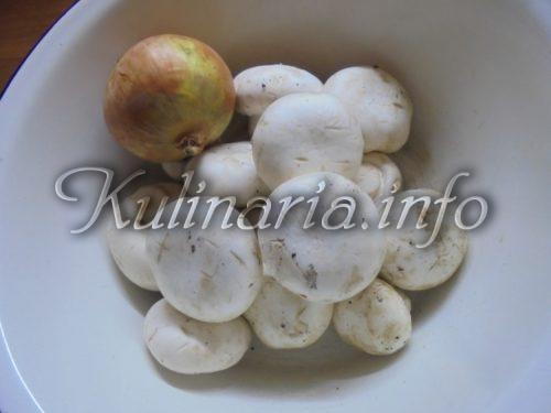 грибы для супа-пюре