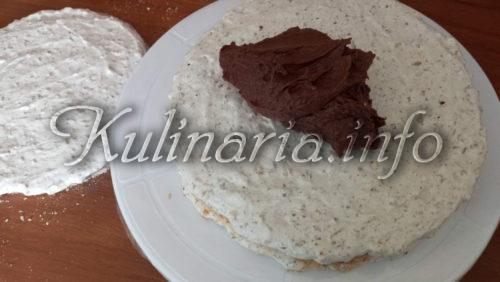 второй корж и шоколадный крем для торта рахат